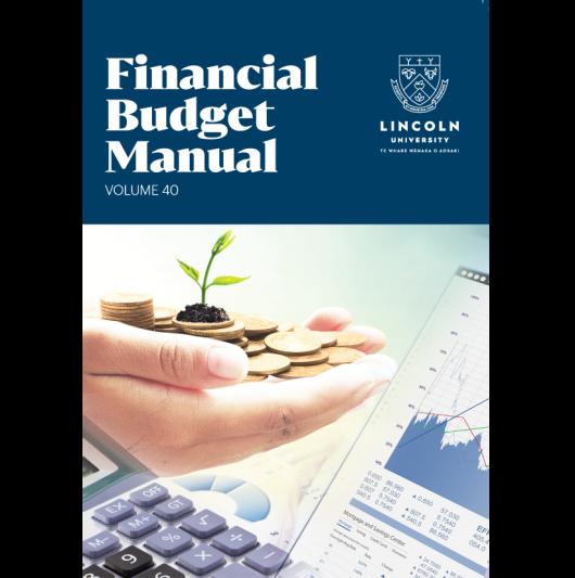 Financial Budget Manual Vol 40 Hard Copy image